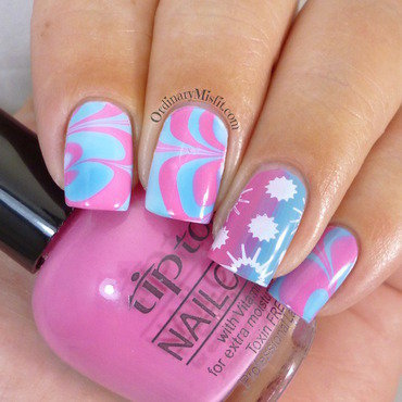 Summer 20watermarble 20nail 20art thumb370f