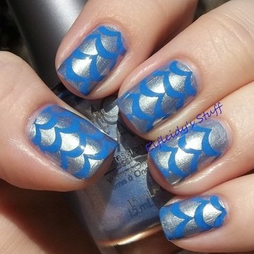 Blue eggs nail art by Jenette Maitland-Tomblin