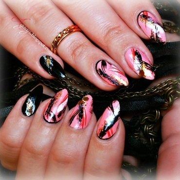 MISZMASZ nail art by Agacys