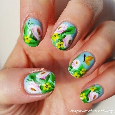 Spring is coming nail art by MadziaM