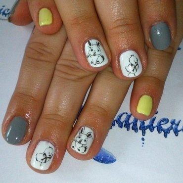Easter ;) nail art by Lakierowniczka