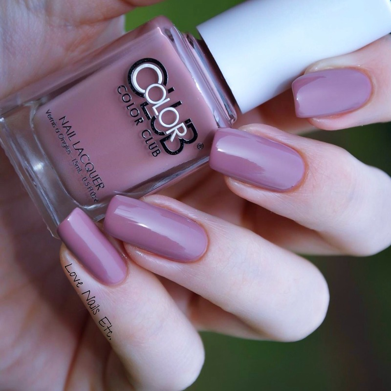 Color Club Get a mauve on it Swatch by Love Nails Etc
