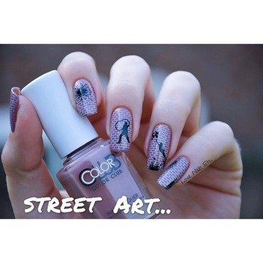 Street art nail art by Love Nails Etc