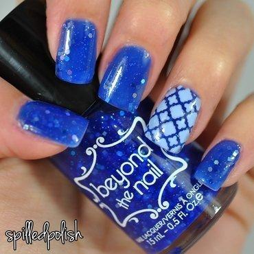 Andromeda nail art by Maddy S