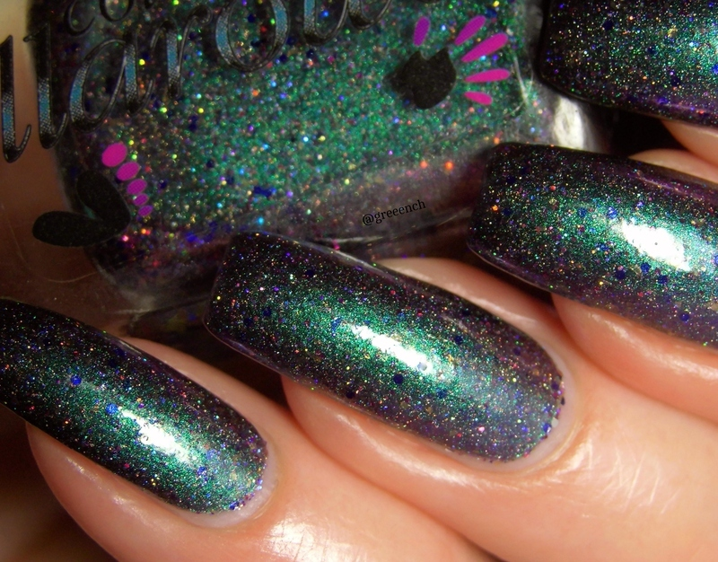 Colors By Llarowe Shake it Off Swatch by greeench