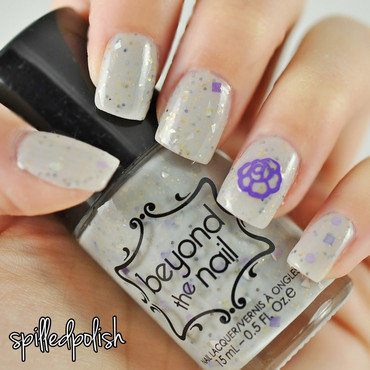 Beyond Grey nail art by Maddy S