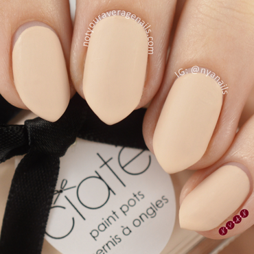 Ciate Doll Face Swatch by Becca (nyanails)