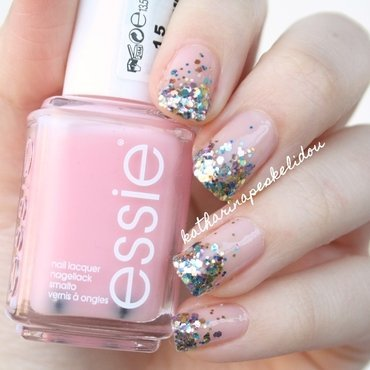 Glitter Party nail art by katharinapeskelidou