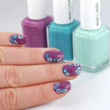 Flowerista Flowers 2 nail art by Ann-Kristin