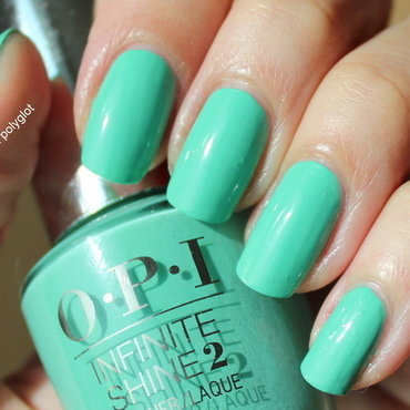 OPI Withstands the test of Thyme Swatch by Polished Polyglot