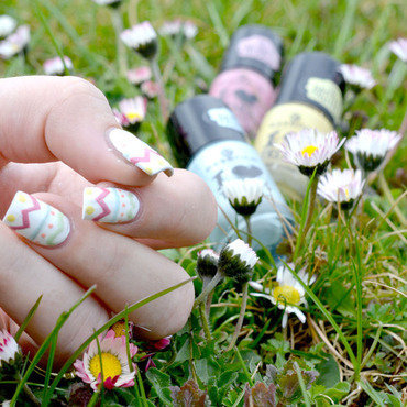 easter egg nails  nail art by ssunnysideup (Sabrina)