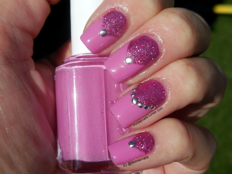 Girly Fun nail art by Donner