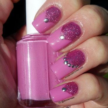 Girly Fun nail art by Donner