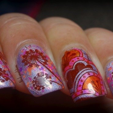 Spring Bloom nail art by Nicky