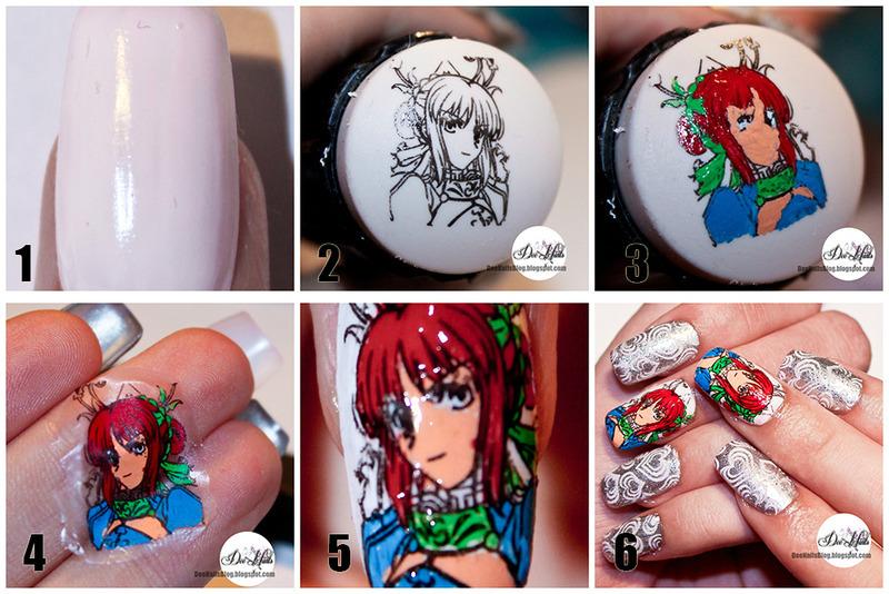 Advanced Stamping Tutorial Nail Art By Diana Livesay Nailpolis