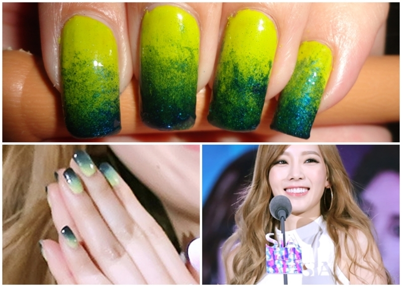 Spring Gradient Nails nail art by Leneha Junsu