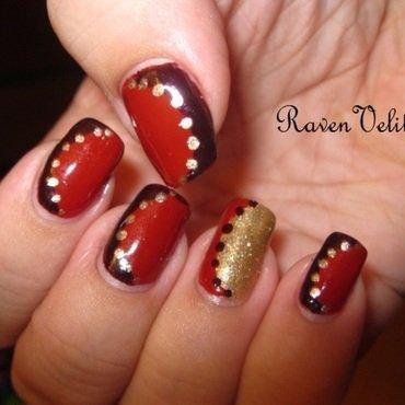 Floating French nail art by Lynni V.