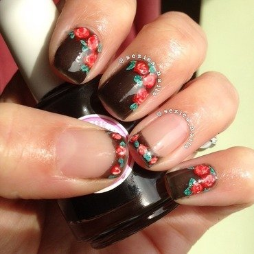 Crelly nails nail art by Sarah Bellwood
