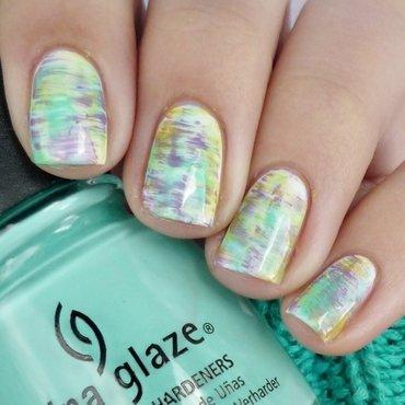 Spring nail art by Romana