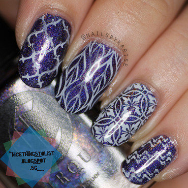 Bps stamping l003 nail art thumb370f