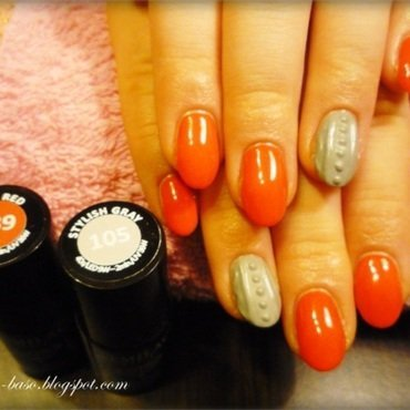 Knitted nails nail art by lilang_baso