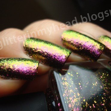 I Love Nail Polish Electric Carnival Swatch by The Wonderful Pinkness