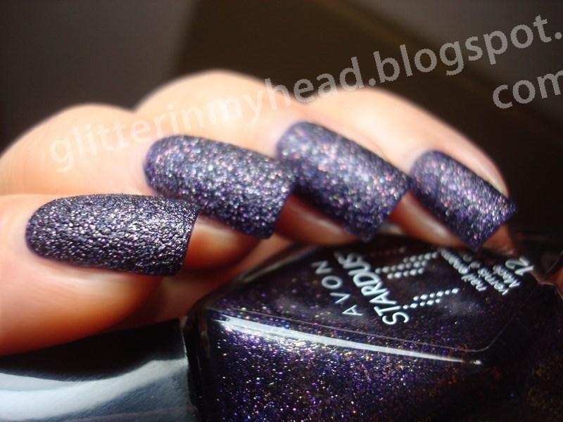 Avon Stardust Polished Plum Swatch by The Wonderful Pinkness