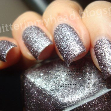 Avon Stardust Silver Crystals Swatch by The Wonderful Pinkness