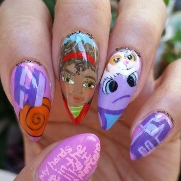 HOME nail art by Milly Palma