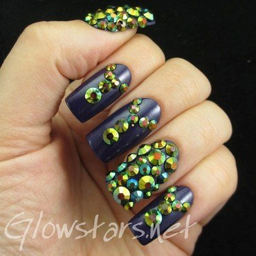 Feat born pretty store blue round rhinestones 1 thumb370f
