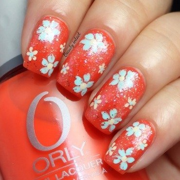 Floral Nails nail art by Beauty Intact