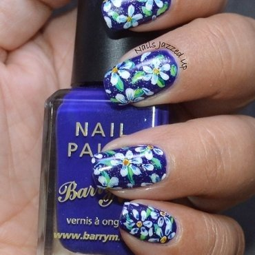 When in Doubt, go Floral nail art by Divya Pandey