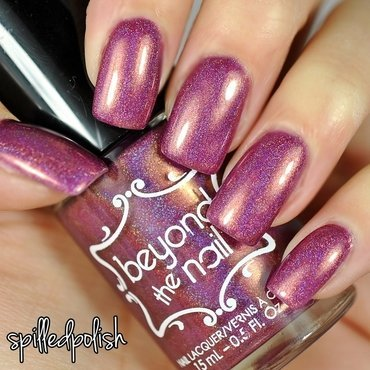Beyond The Nail Cherry Wine Swatch by Maddy S