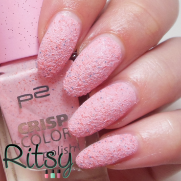 P2 Strawberry Frosting Swatch by Ritsy NL