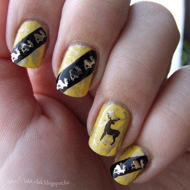 Game of Thrones - House Baratheon nail art by Barbara P.