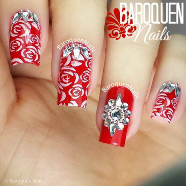 Feeling Floral nail art by BaroquenNails