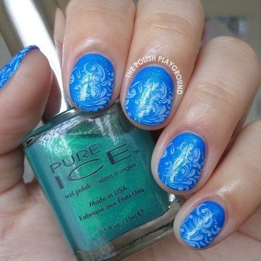 Blue 20layering 20and 20faded 20white 20stamping 20nail 20art thumb370f