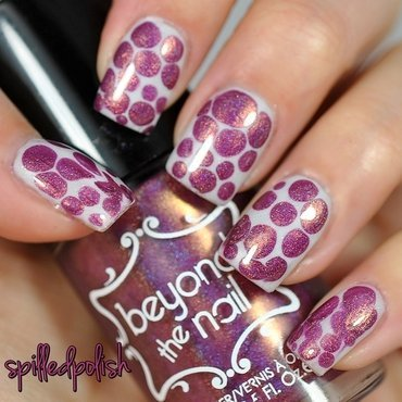 Blobbicure nail art by Maddy S
