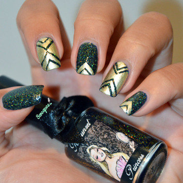 Nail art striping tape nail art by Sweapee
