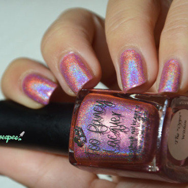 Too Fancy Lacquer The oops within Swatch by Sweapee