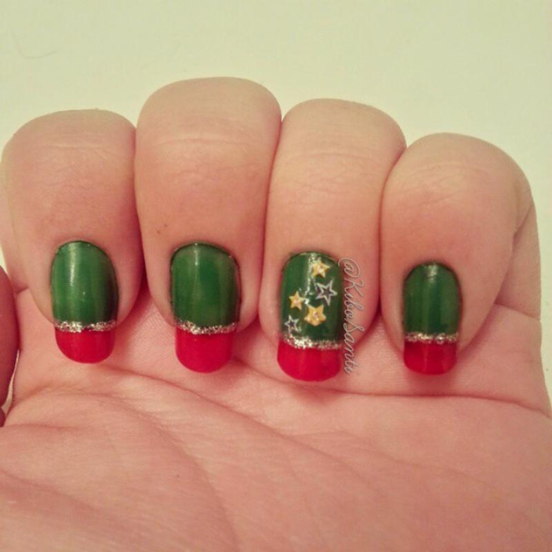 Presents/Giving Back  nail art by KiboSanti