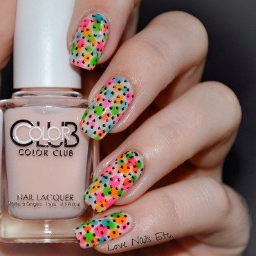 "Life in color! ""Glossy"" nail art by Love Nails Etc"