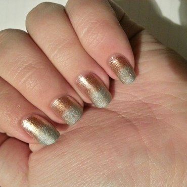 New Year's Eve 2015! nail art by KiboSanti