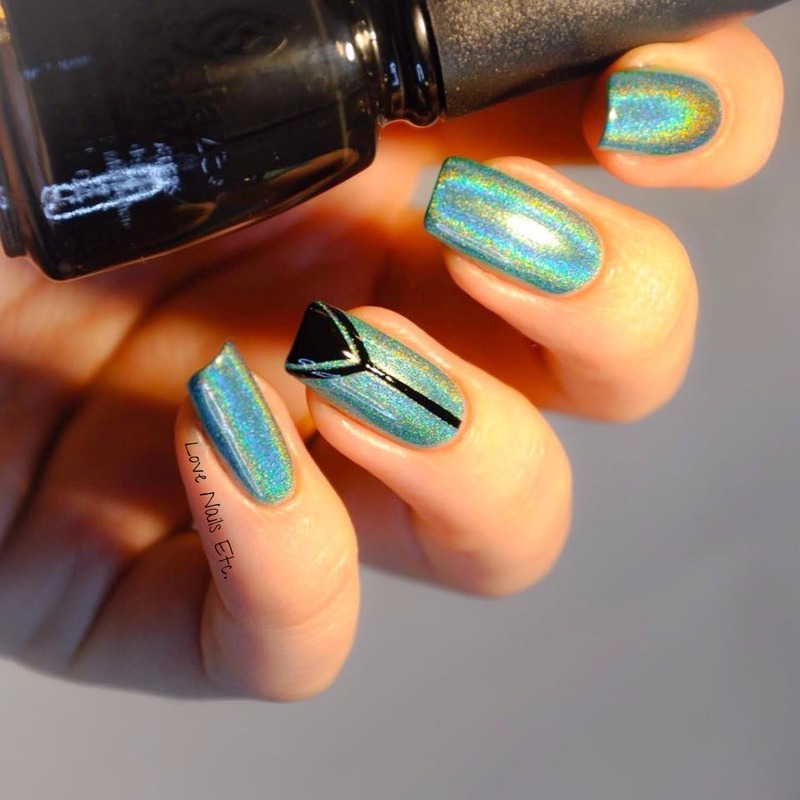 Simply  nail art by Love Nails Etc