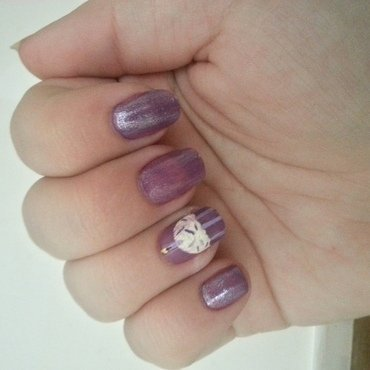Birthday Nails for Margery nail art by KiboSanti