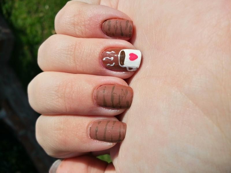Valentines Chocolate nail art by KiboSanti