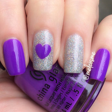 China Glaze plur-ple Swatch by Melissa