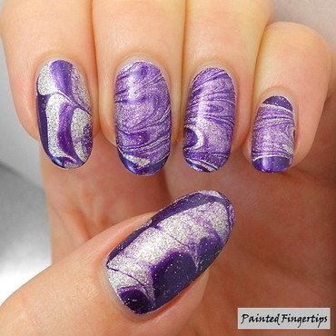 Silver purple marble thumb370f