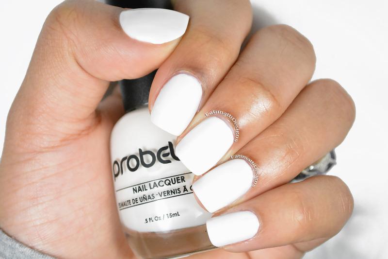 Probelle Chalk White Swatch by Fatimah