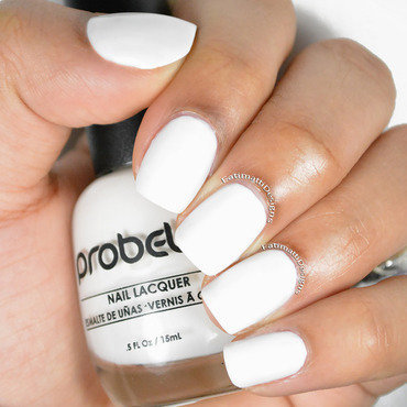 Probelle Chalk White Swatch by Fatimah